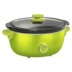 Bella Dots 6 Quart Slow Cooker - Lime Green. Suggested Retail Price: $39.99 #BellaDots #BellaLife