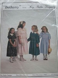 Kay Guiles Designs Pattern Bethany Dress #103
