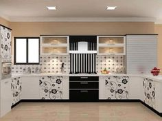 High Gloss With Laminate Is The Classy And Latest Collections Of Modular  Kitchen Style, Its Available Only In Professional Modular Kitchen Company  In Porur.