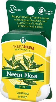 We are the world's leading manufacturer of certified-organic Neem products. Neem oil contains extraordinarily high levels of antioxidants. Packed with antioxidants and essential fatty acids, neem calms, nourishes and moisturizes the most sensitive skin. Dental Supplies, Dental Floss, Peppermint Oil, Healthy Teeth, Oral Hygiene, Oral Health, Fennel, Vegan, 50 Yards