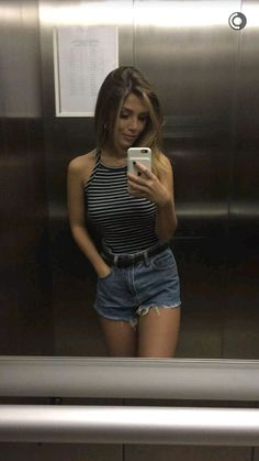 Outfit short jeans