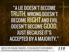 Image result for with a lie+ with a truth