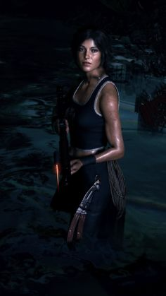 Steam Community: Shadow of the Tomb Raider. Tomb Raider Game, Tomb Raider Lara Croft, Warrior Girl, Warrior Women, Jogging, Resident Evil Girl, Laura Croft, Video Games Girls, Dragon Age