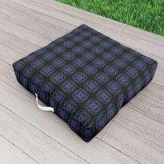 Geometric Outdoor Floor Cushion by scardesign Picnic Blanket, Outdoor Blanket, Outdoor Floor Cushions, Modern, Comfy, Outdoor Decor, Design, Home Decor, Trendy Tree