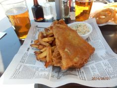 From Gastroposter Rose Orlando:  Best fish and chips fresh from the ocean in PEI!  Love it here, more seafood to come #lovePEI #seafood #foo...