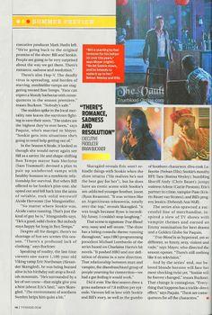 TV Guide feature on True Blood Season 7