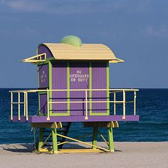 South Beach - Miami Beach, Florida  This part of the Sunshine State is known for glitz and glamour, but the golden sands of South Beach have a carefree, friendly spirit. GO MIAMI HURRICANES!