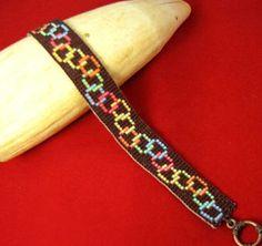 Loony Chain Beaded Bracelet Pattern at Sova-Enterprises.com