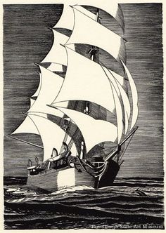 Rockwell Kent, Moby Dick illustration