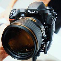 Nikon D5 with new Nikkor AF-S 105mm f/1.4 E ED lens! It is a pretty serious combination! #photokina #photokina2016 #nikon #nikonworld #nikond5 #d5 #nikonphotography #nikontop #nikoncamera #nikonphoto #cameraporn #nikkorlens #nikkor #nikonlens #nikon105mm #nikkor105mm #nikonafs105mm #105mmf14 #nikon105mmf14 #lensporn #photogear #ThePhotoGear
