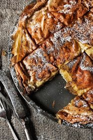 Pratos e Travessas: Tarte de creme de coco e lima | Lime and cocconut custard tart