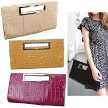New Fashion Women Girl Evening Clutch Purse Bag Wedding Party Handbag Bags With Chain