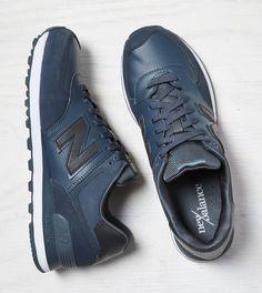 Black New Balance Outdoor 574 Sneaker