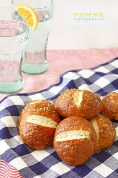 Pretzel Rolls... The soft pretzels you know and love in roll form!