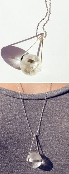 Moonstone Necklace. Amazing :)