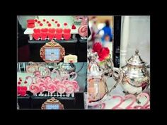 ▶ Alice-In Wonderland-Party via Little Wish Parties childrens party blog - YouTube