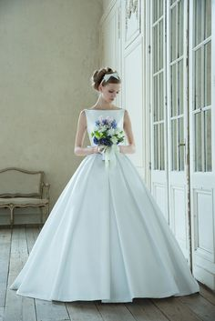Structured Ball Gown
