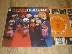 OLATUNJI - More Drums of Passion - UK VINYL LP - CBS BPG 62961