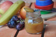 Potitos de frutas y zanahoria # Ultimamente a los potitos de fruta les pongo un poco de zanahoria. Los hago para consumir en un máximo de dos días, no para conservarlos. A los niños les gusta muchoy los mayores los tomamos ... »