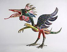 Pedro Linares Lopez (June, 29th, 1906 – January 25th, 1992) was a Mexican artist born in Mexico City and was the creator of the paper maché figurines named alebrijes.