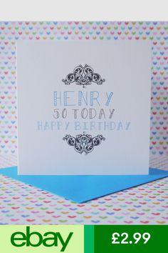 Cards Amp Stationery Home Furniture DIY Ebay Birthday For Men