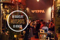 Athene heeft een bruisend nachtleven! Talloze rooftop bars, cafés en trendy clubs. Hier mijn 10 nightlife hotspots voor een avondje stappen in Athene...