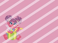 Abby Cadabby Edible Cake Topper Frosting 1/4 Sheet Image #6