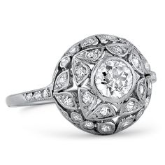 The Norma Ring from Brilliant Earth @ norma britain. I thought it was cool to find a Norma ring.