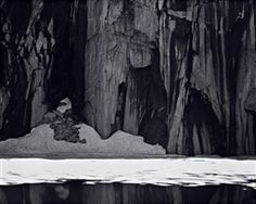 Frozen Lake and Cliffs  by Ansel Adams