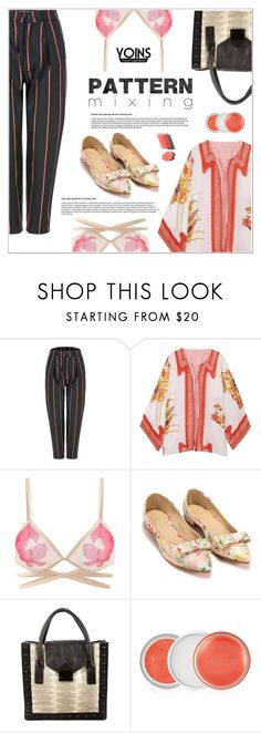"""""""Yoins"""" by shambala-379 ❤ liked on Polyvore featuring Loeffler Randall, Clinique, patternmixing, yoins, yoinscollection and loveyoins"""