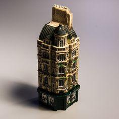 Collectible Miniature House: France. Paris. Sports of Paris (Height 11 cm)