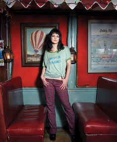 Pauley Perrette Risen Magazine.  ~  Attended Valdosta State University in Valdosta, Georgia, where she studied criminal justice & later moved to New York City to study at the John Jay College of Criminal Justice.
