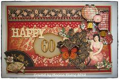 My Scrapspiration: Graphic 45 Bird Song Birthday Card