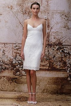 919cc836f7d Monique Lhuillier Bridal Fall 2014 - Slideshow Garden Wedding Dresses