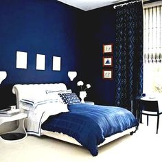 Image of: blue master bedroom design light blue light blue master bedroom light blue bedroom Wall Decor Bedroom, Blue Bedroom Walls, Blue Bedroom Decor, Apartment Bedroom Decor, Navy Blue Bedrooms, Dark Blue Bedrooms, Blue Master Bedroom, Blue Bedroom Ideas For Couples, Couple Bedroom