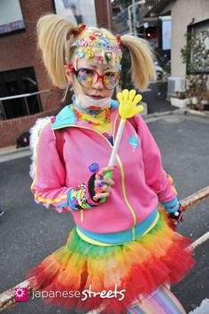 Decora Kei - Japanese street fashion in Harajuku, Tokyo Fashion In, Japan Fashion, Lolita Fashion, Colorful Fashion, Cute Fashion, Tokyo Street Fashion, Japanese Street Fashion, Grunge Style, Soft Grunge