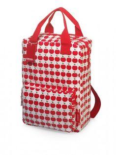 Grand sac à dos pommes