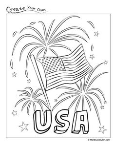 fireworks free printable perfect for memorial day festivities with children free printable coloring pagessummer
