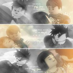"""#Ninjago Nya """"She smiled for the first time in Kai's arms. She smiled for the last time in Jay's arms.""""  My Edit. Hope you'll like it. Give me credit, if you repost! ( @smaragdamalia // instagram, tumblr, twitter )"""
