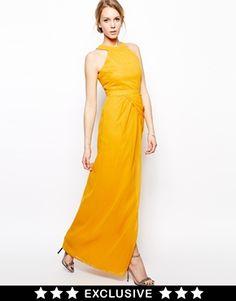 VLabel London Titchfield Maxi Dress With Halterneck