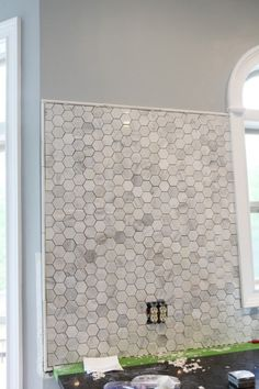 metal edge finishing for tile | its easy, and much less expensive