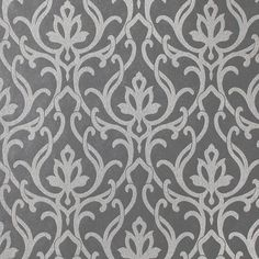 The York Wallcoverings Candice Olson Shimmering Details Dazzled Damask Wallpaper sets a luxurious backdrop for a room. This wallpaper features a traditional damask pattern that adds a touch of vintage elegance. It is strippable and washable wallpaper that features a straight match pattern. <br/><br/>This wallpaper roll has a traditional style. It features a damask pattern that brings a polished elegance to a living space. This wallpaper is available in multiple colors, g...