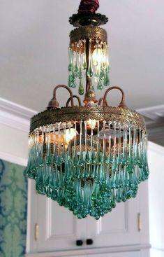 Big Chandelier for Sale . Big Chandelier for Sale . Estilo Art Deco, Deco Originale, Chandelier Lighting, Glass Chandelier, Teal Chandeliers, Antler Chandelier, Beaded Chandelier, Vintage Lighting, Lampshades