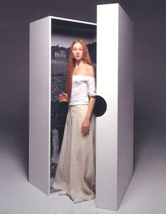 styleregistry: Yohji Yamamoto   Spring 1998
