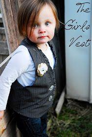"""Shwin&Shwin: """"vest"""" Friends! (the girl vest)"""