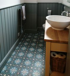 Casablanca encaustic tiles. Colourful pattern tiles inspired by Morocco.