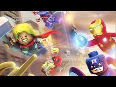 Lego Marvel Super Heroes - Not quite a trailer, but rather some commentary from the developing team... and some awesome graphics! #lego #marvel