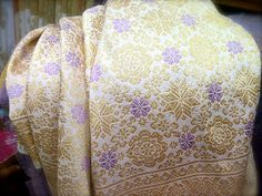 Golden Songket Palembang with a touch of lavender for my Mangadati Party