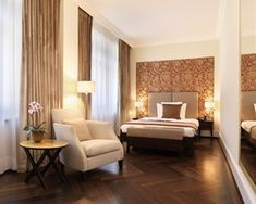 Looking for luxury rooms and suites at The Dolder Grand? Check availability at The Leading Hotels of the World Hotel Bedroom Decor, Leading Hotels, Luxury Rooms, Hostel, Furniture, Luxury Travel, Switzerland, Home Decor, Sun