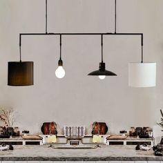 Weiß Moderne Kreative Leinen Lampenschirm Rustikalen Hanf Lampenabdeckung  Bar Pendelleuchte Pendelleuchte Für Esszimmer Restaurant Küche(